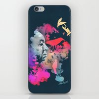 hitchcock iPhone & iPod Skins featuring Hitchcock by Pepe Psyche