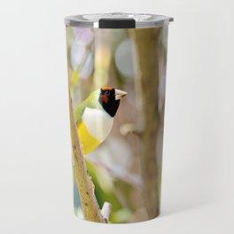 Peaceful Gouldian Travel Mug