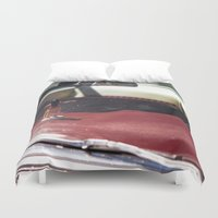 melbourne Duvet Covers featuring Aloha from Melbourne - 2 by Paul Vayanos