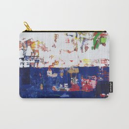 Myth Modern Art Blue Carry-All Pouch