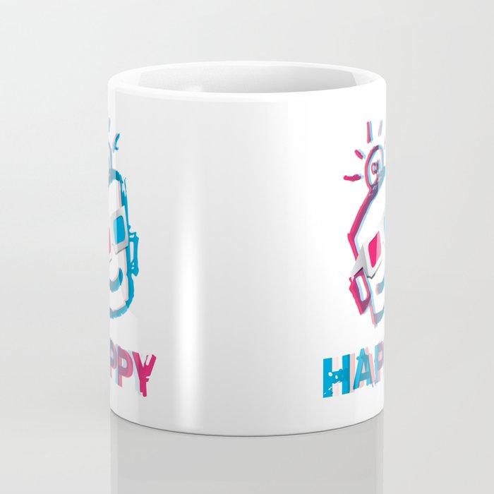 3D HAPPY Coffee Mug