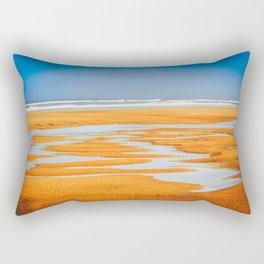 Colorful Beach Rectangular Pillow