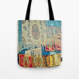 LA Window - Our Lady of Guadalupe Tote Bag