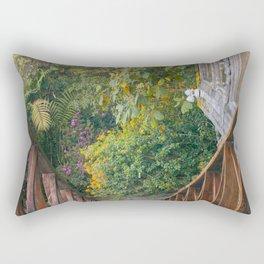 Plantas y flores Rectangular Pillow