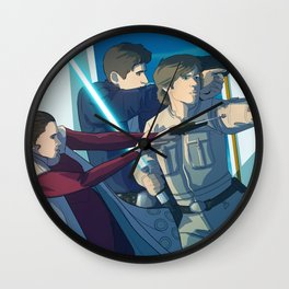 Cloud City Wall Clock