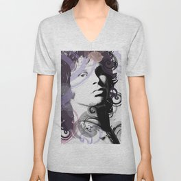 Digital art of J. Morrison Unisex V-Neck