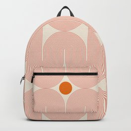 Abstraction_SUN_LINE_ART_STAR_Minimalism_001 Backpack