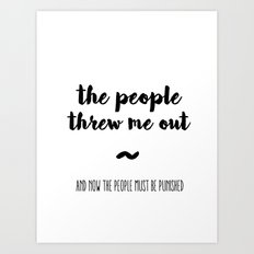 The people Art Print