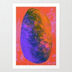 Veiled Mind Art Print