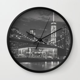 New York Magic Wall Clock