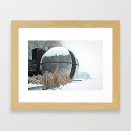 Wannabe Death Star Framed Art Print