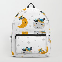 Nursery bundle cute moon Backpack