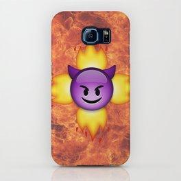 Devil Emoji iPhone Case