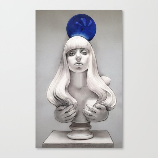 Suddenly the Koons is me Canvas Print