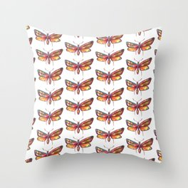 butterflies pattern 1 Throw Pillow
