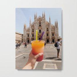 Duomo Refreshments Metal Print