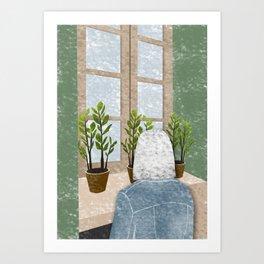 Good Morning, Plants Art Print