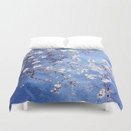 Vincent Van Gogh Almond BlossomS Blue Duvet Cover