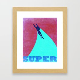 Heroic Men #1 Framed Art Print