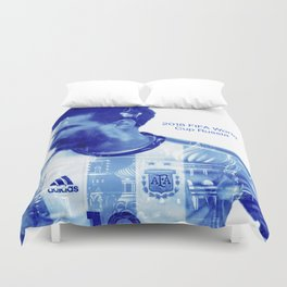 2018 FIFA World Cup Argentina Duvet Cover