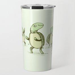 Dancing Turtles Travel Mug