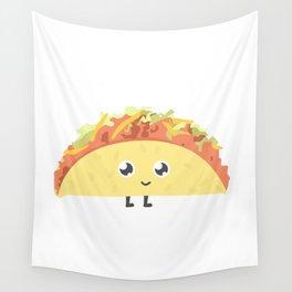 Cute lil taco Wall Tapestry
