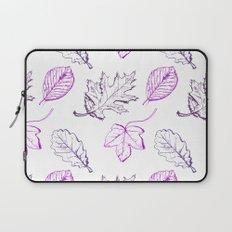 Leaves (purple) Laptop Sleeve