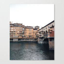 italian Architecture in Florence Canvas Print