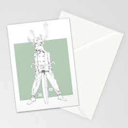 Weird & Wonderful: Racing Reindeer Stationery Cards