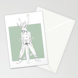 Weird & Wonderful: Racing Reindeer Stationery Cards
