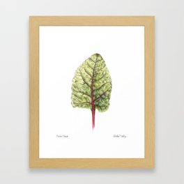 Swiss Chard Framed Art Print