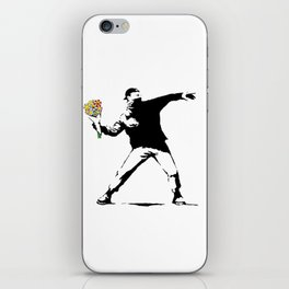 Flowerbomb iPhone Skin