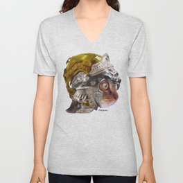 Cat Warrior Unisex V-Neck
