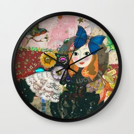 Paper Dollies - Jane Wall Clock