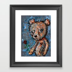 MY ADORING HEART WEEPS Framed Art Print