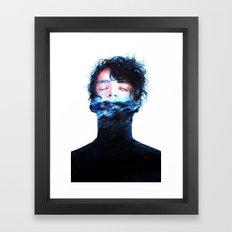 Stille Wasser Sind Tief Framed Art Print