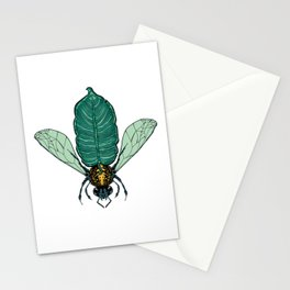 Tropical Bee Stationery Cards