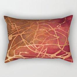 Abstract No. 184 Rectangular Pillow