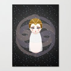Kokeshi The Childlike Empress Canvas Print
