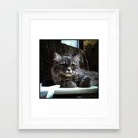 wreck it ralph Framed Art Prints featuring Ralph by Roxie Torii
