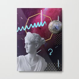 Ancient Gods and Planets: Ceres Metal Print