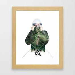 Alan Walker Framed Art Print