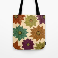 Color Me Floral Tote Bag