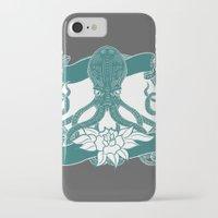 kraken iPhone & iPod Cases featuring KRAKEN by Norm Morales Originals