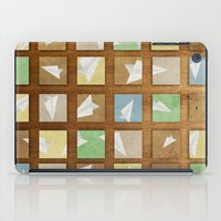 plane iPad Cases featuring Hidden Plane by mewdew