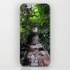 Lush tunnel iPhone & iPod Skin