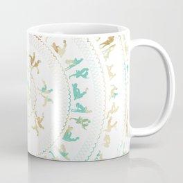 Kama Sutra Mandala Blue and Gold Coffee Mug