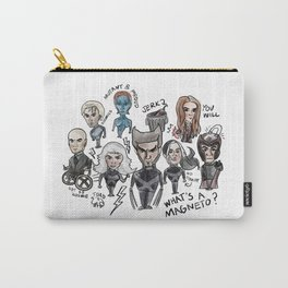 Bad X-men drawing with maximoff twins Carry-All Pouch