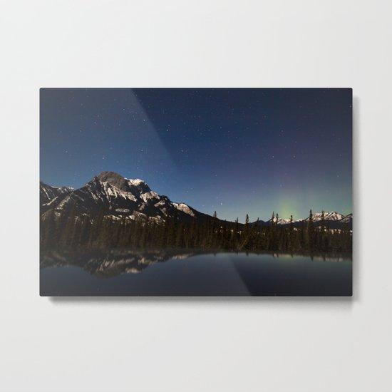 Northern lights #photography Metal Print