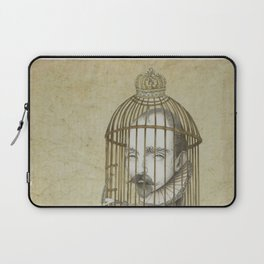 Michel Du Montaigne (1533 - 1592) An Inspirational Philosopher; Prison in the Sky Laptop Sleeve